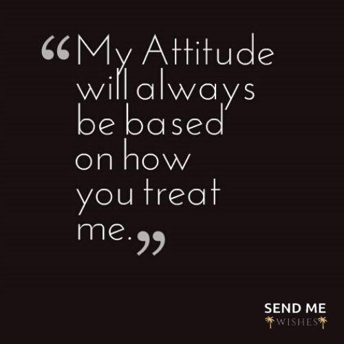 whatsapp status on attitude
